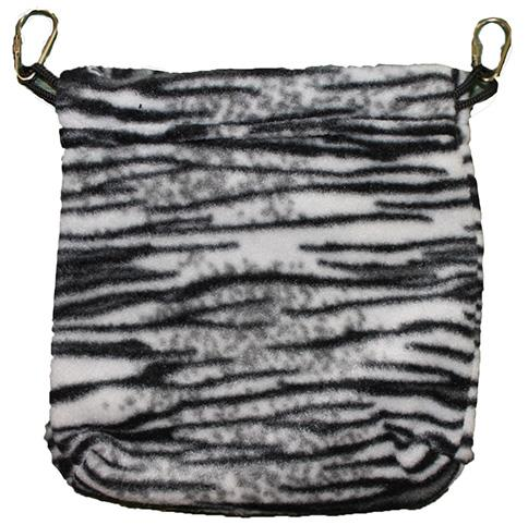 Nest Pouch / Black & White Zebra
