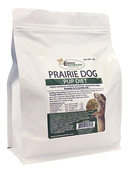Prairie Dog Pup Diet 3 lb.
