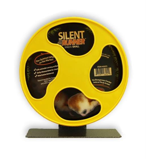 "Silent Runner Wheel 9"" with Sandy Trimmer Track and Cage Attachment"
