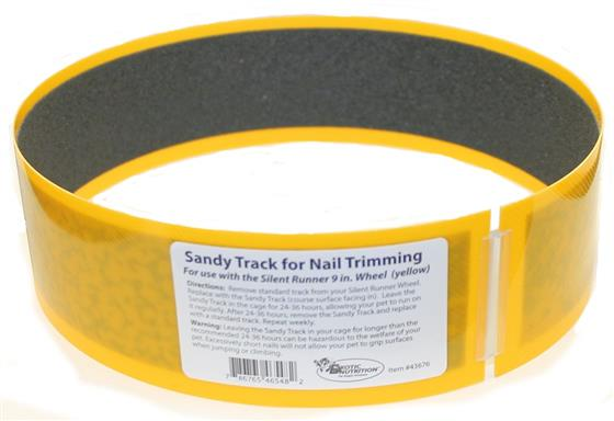 "Silent Runner Sandy Trimmer TRACK ONLY FOR 9"" (YELLOW)"