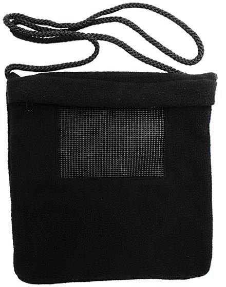 Carry Bonding Pouch with Window / BLACK