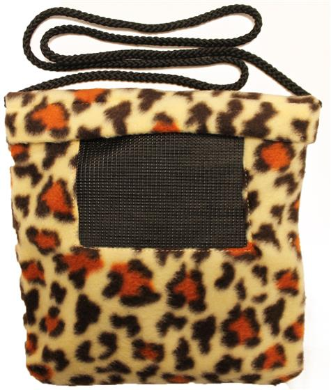 Carry Bonding Pouch with Window / CREAM CHEETAH