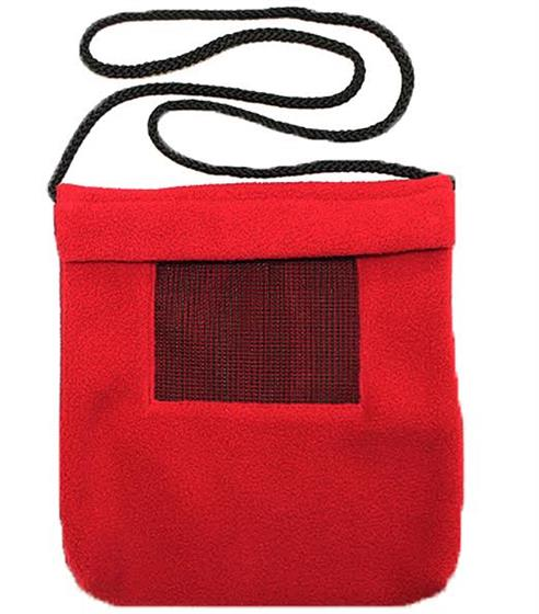 Carry Bonding Pouch with Window / RED