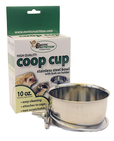 Stainless Steel Cup with Holder 10 oz.