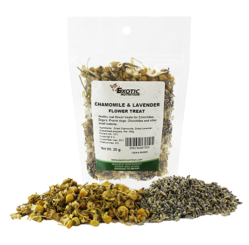 Chamomile & Lavender Flower Treat 20g RH3EN