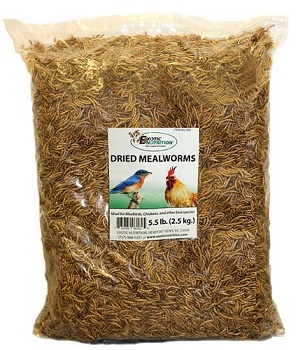 Dried Mealworms 5.5 lb. bag
