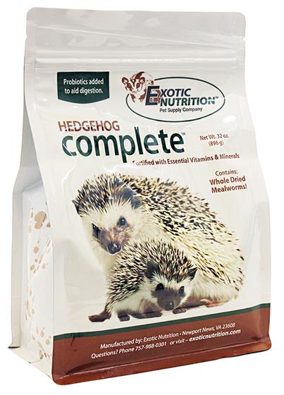 Exotic Nutrition S Hedgehog Complete Food
