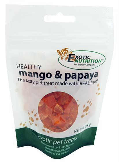 Papaya & Mango Treat 85 g.