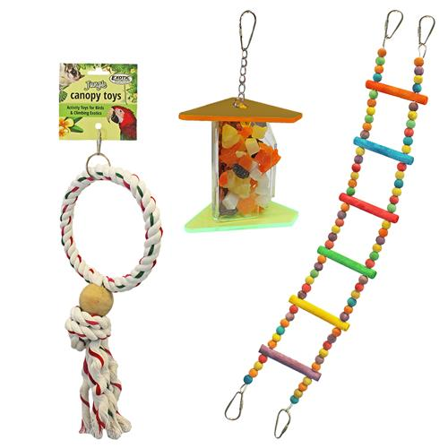 Jungle Canopy Toy Bundle 031605130180  sc 1 st  Exotic Nutrition & Jungle Canopy Toy Bundle - For Sugar Gliders Squirrels Marmosets ...