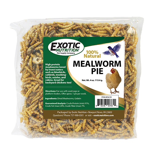 Mealworm Pie 4 oz. ENC30