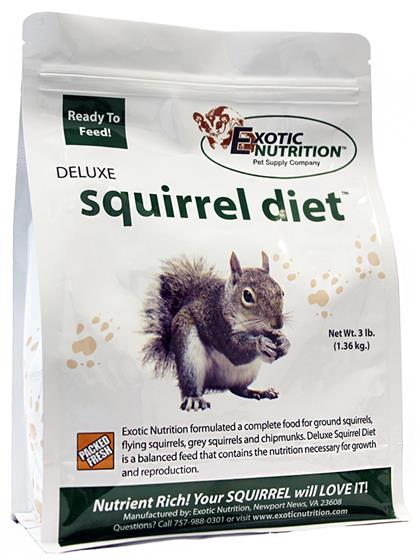 Deluxe Squirrel Diet 3 lb.