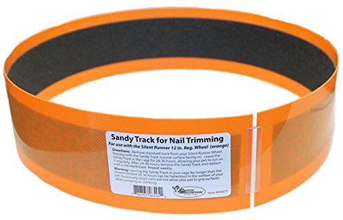 "Silent Runner Sandy Trimmer TRACK ONLY FOR 12"" REGULAR (ORANGE)"