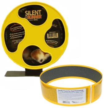 "Silent Runner Wheel 9"" with Sandy Trimmer Track"