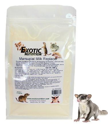Marsupial Milk Replacer 250 g.