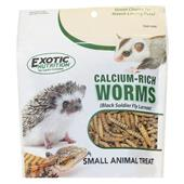 Calcium-Rich Worms