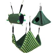 Forest Green Pouch Set