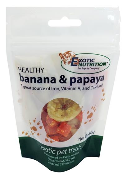 Banana & Papaya Treat