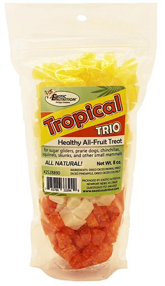 Tropical Trio Treat 8 oz.
