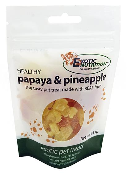 Papaya & Pineapple Treat 8 oz.