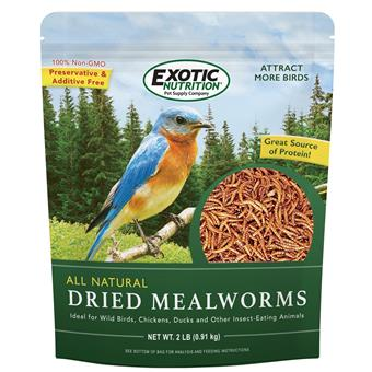 Dried Mealworms 2 lb. Bag EN3671