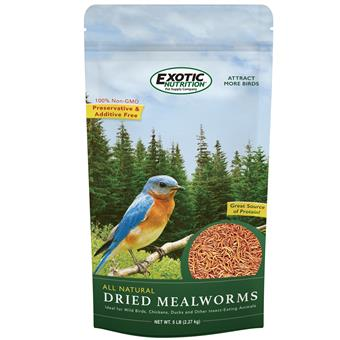 Dried Mealworms 5  lb. Bag EN3688