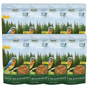 Dried Mealworms 88 lb.