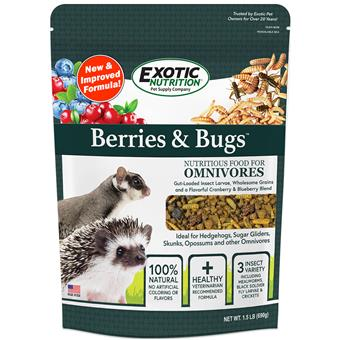 Berries & Bugs Diet