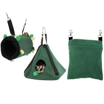 Green Pouch Set