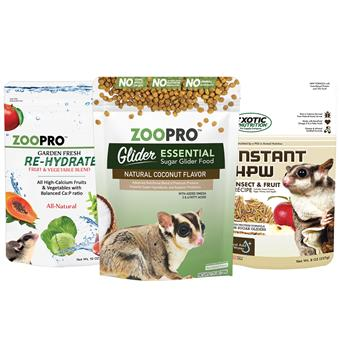 Glider Essential Deluxe Food Starter Package