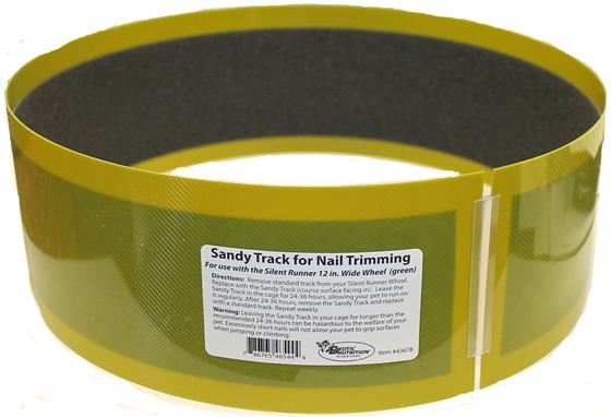"Silent Runner Sandy Trimmer TRACK ONLY FOR 12"" WIDE (GREEN)"