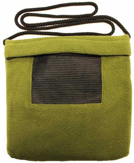 Carry Bonding Pouch with Window / OLIVE GREEN