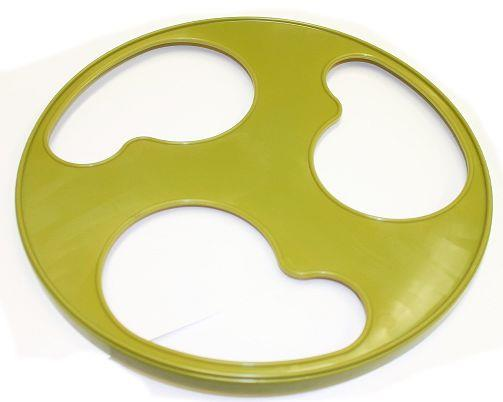 "Replacement Front Plate for Silent Runner Wheel 12"" Wide (GREEN)"