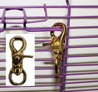 Gold Standard Cage Lock