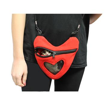 Sugar Glider in Heart Carry Bonding Pouch