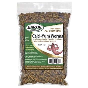 Calci-Yum worms 1 lb. bag 333EN
