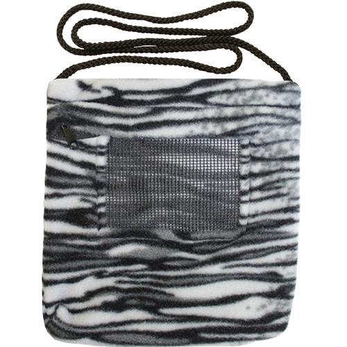 Carry Bonding Pouch with Window / BLACK & WHITE TIGER