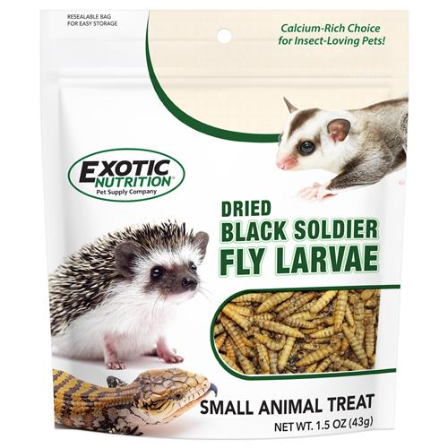 Dried Black Soldier Fly Larvae