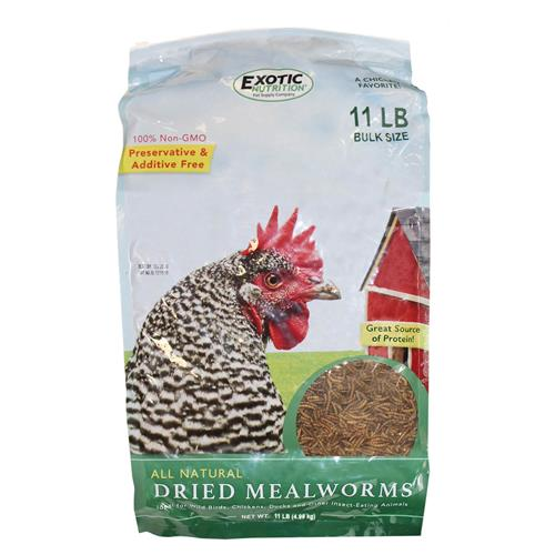 Dried Mealworms 11 lb. Bag EN3695