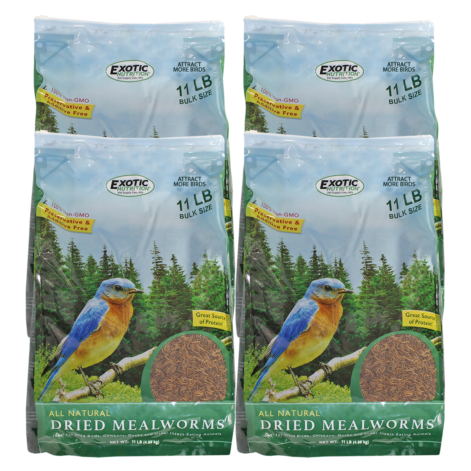 Dried Mealworms 44 lb. box