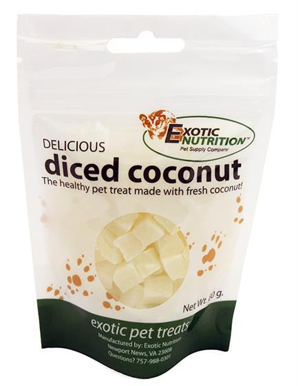 Diced Coconut Treat 80 g.