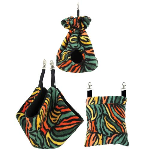 Rainbow Zebra Pouch Set 982794
