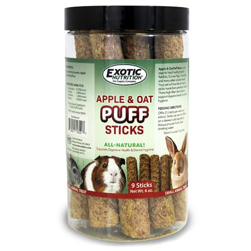 Apple & Oat Puff Sticks EN3107