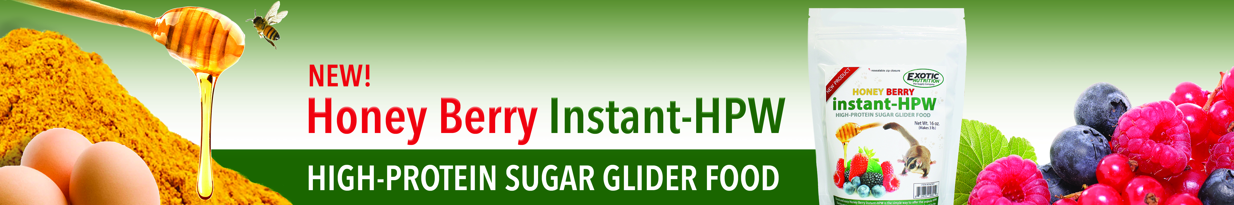 Honey Berry Instant HPW