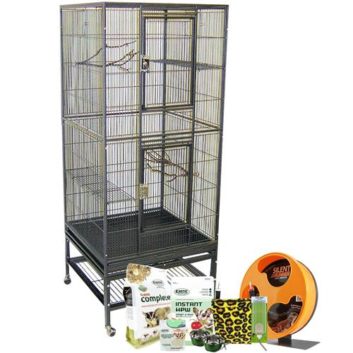 Madagascar Cage & Starter Package